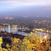 Night view of Lahijan - Gilan Province
