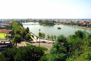 Lahijan artificial lake - Gilan Province