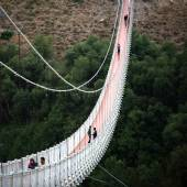 Meshkin Shahr suspension bridge - Ardebil Province