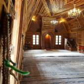 Choobin (wooden) Mosque - near Nishabur