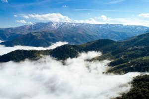 Olsbelangah Village above the clouds - Masal
