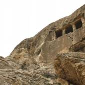 The rock tomb of Faghreghah near Mahabad
