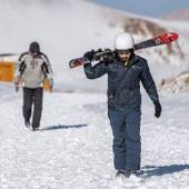Sahand Ski Resort near Tabriz (East Azerbaijan)