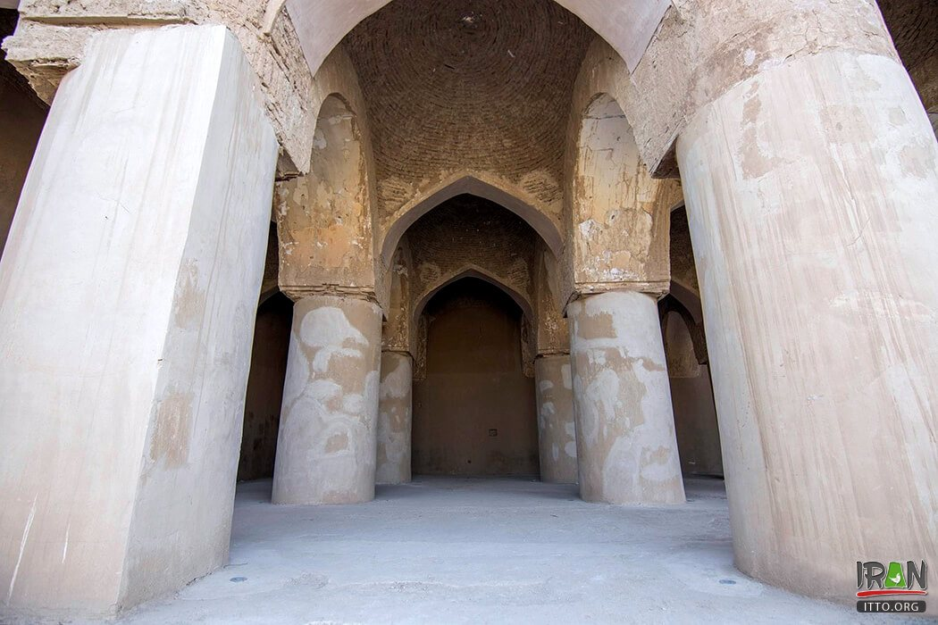 Tarikhaneh Temple was built with the Sasanian Architectural Style. Also, you will see the Parthian brickwork in this mosque.