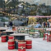 Cafe and Restaurants in Tehran's Book Garden