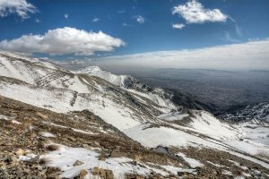 Tochal Mountain - north of Tehran