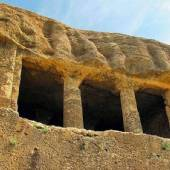 The rock tomb of Faghreghah (Fakhrigah) near Mahabad