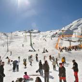 Dizin Ski Resort near Karaj and Tehran