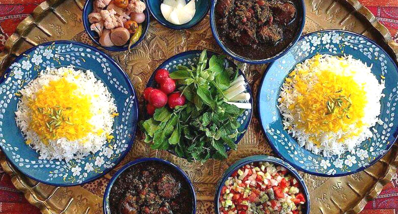 Iranian food and drink